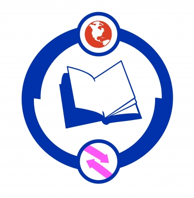 The logo of literature without borders