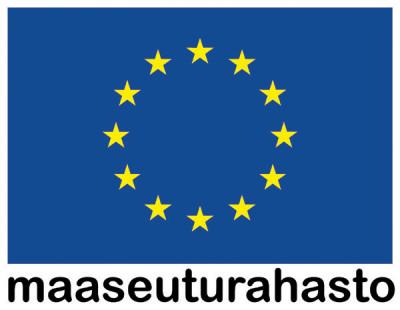 Eu-lippu ja teksti maaseuturahasto