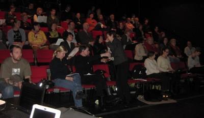 Yleisöä oli noin 60 henkeä