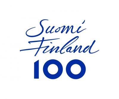 Finland 100 logo