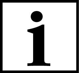 Valkoisella pohjalla musta i-kirjain