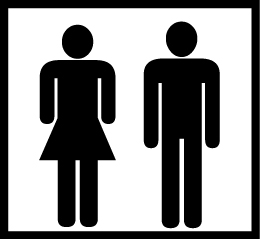Toilet (woman and man)