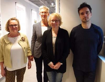 Fyra medlemmar av ny styrelse