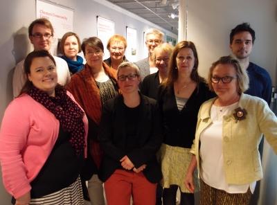 11 människor i föreningens möte 2015